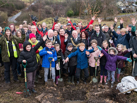 Northern Forest planting event